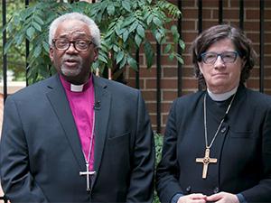Bishop Curry and Bishop Eaton